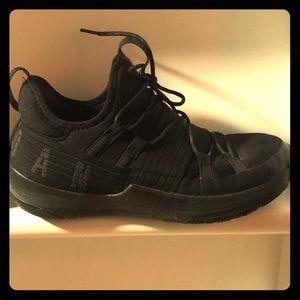 Men's Jordans Running Shoes Black Size 11